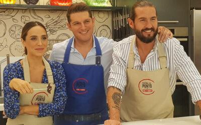 """Manu Tenorio """"Entrefogones"""" con Peña y Tamara"""